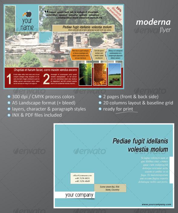GraphicRiver Moderna Flyer 78259
