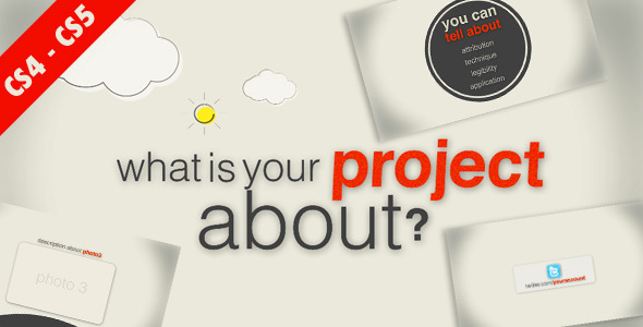 After Effects Project - VideoHive Project Product Service Promotion 2251444