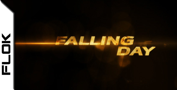 After Effects Project - VideoHive Falling Day 2284447