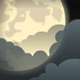 Cloudy Night Sky - ActiveDen Item for Sale