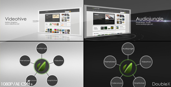 VideoHive Corporate Website Presentation 3in1 2274408