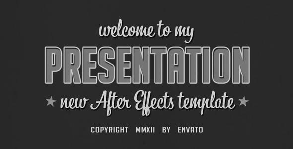 VideoHive Old presentation 2273984