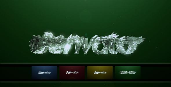 VideoHive Magic Crystal Logo Morph 2285637