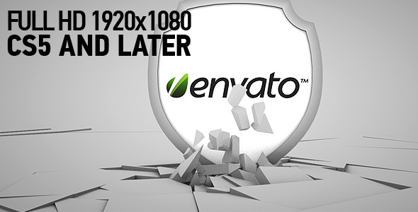After Effects Project - VideoHive Falling logo 2285767