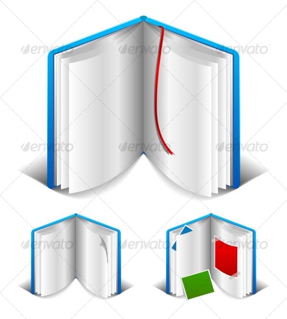 GraphicRiver Open book 85274