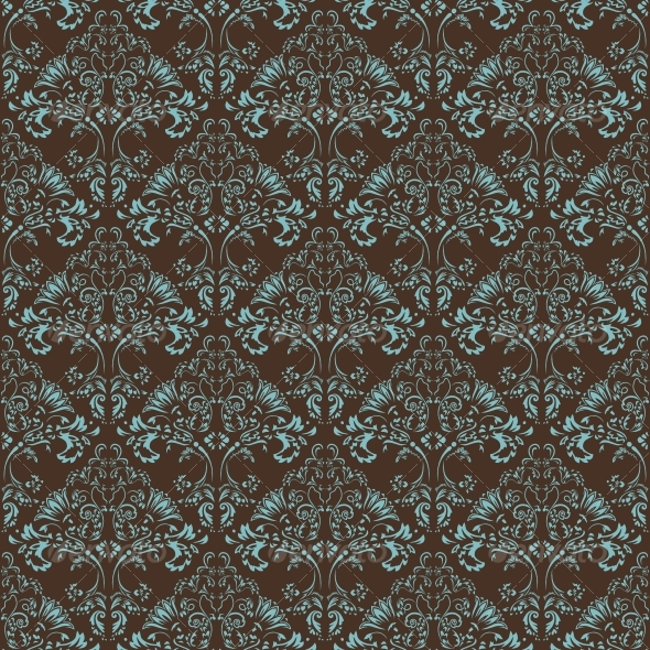 GraphicRiver Seamless floral background 85286