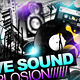Sound Explosion Poster + Flyer // 3 Color Versions - GraphicRiver Item for Sale