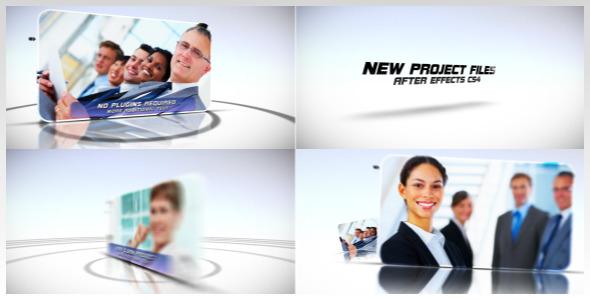 VideoHive Motion Circle Presentation 2294269