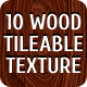 10 Unique Tileable High-Resolution Wood Textures - GraphicRiver Item for Sale