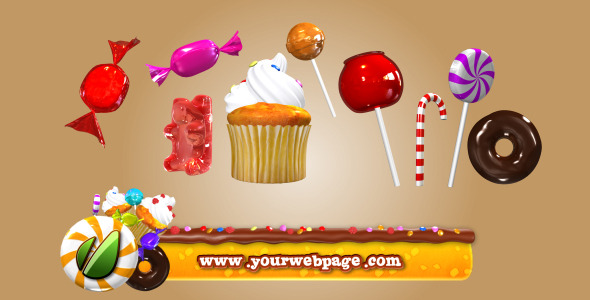 VideoHive Candy Pack Project 2296072