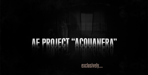 After Effects Project - VideoHive Acquanera 260314