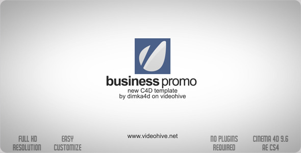 VideoHive Business Promo C4D 2297557