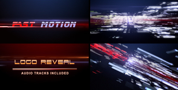 After Effects Project - VideoHive Fast Motion Logo Reveal 2297960