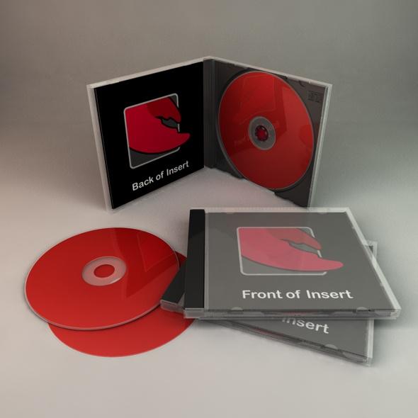 3DOcean CD Case 70939