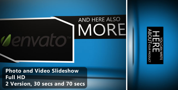 After Effects Project - VideoHive Video And Photo Slideshow 2301032
