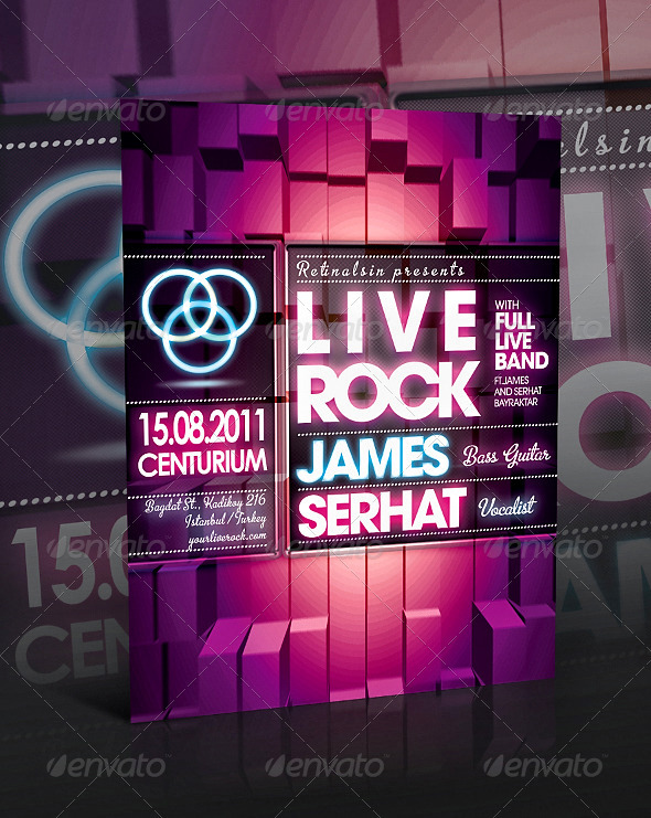 GraphicRiver Liverock Flyer Template 260872