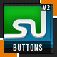 3D Social Buttons Set- 2 - ActiveDen Item for Sale