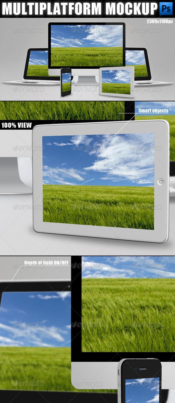 GraphicRiver Multiplatform Mockup 2302732