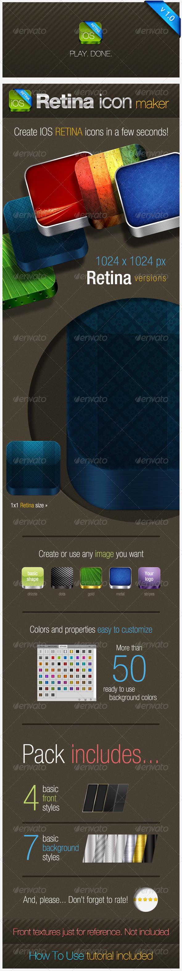 GraphicRiver IOS Retina Icon Maker 2274711