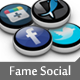 Fame Social Icons Set - GraphicRiver Item for Sale