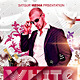 White Deluxe Party Flyer - GraphicRiver Item for Sale