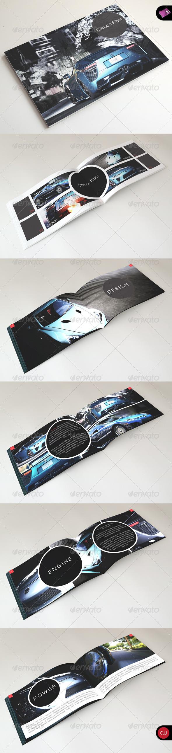 GraphicRiver Carbon Brochure & Portfolio Template 2310994
