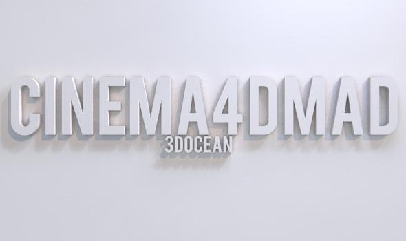 3DOcean Text project set up 3D Models -  Render Setups 2311854
