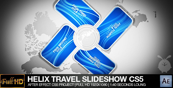 After Effects Project - VideoHive Helix Travel Slide Show CS5 262071