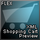 Flex XML Shopping Cart Preview  - ActiveDen Item for Sale