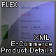 Flex XML E-Commerce Product Details - ActiveDen Item for Sale