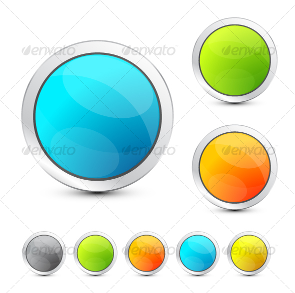 GraphicRiver Colored buttons 86041