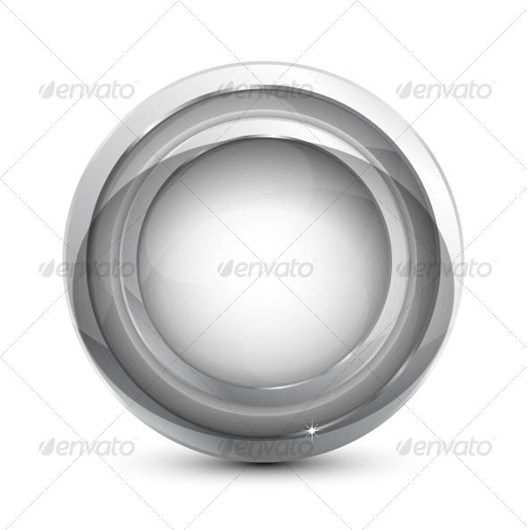 GraphicRiver Glass button 86050
