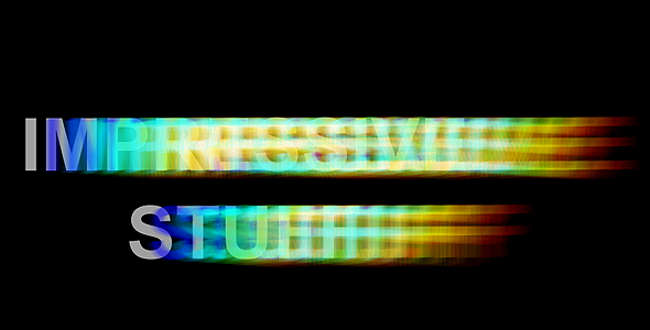 After Effects Project - VideoHive Chromatic aberration intro 84734