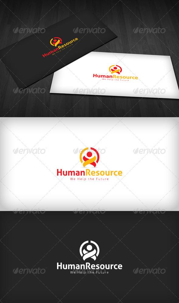 Graphic River Human Resources Logo Logo Templates -  Humans 2276059