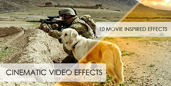 After Effects Project - VideoHive Cinematic Video Effects 262914