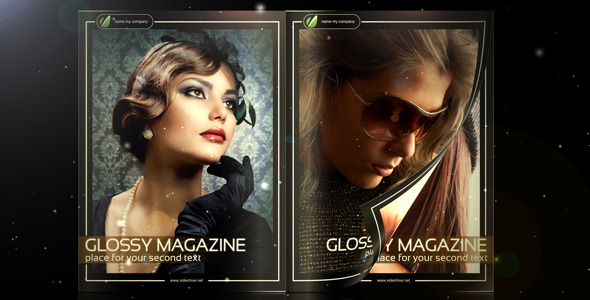 After Effects Project - VideoHive Glossy Magazine 263066