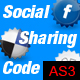 Social sharing and bookmarking directly from Flash - ActiveDen Item for Sale