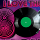 I Love The 80's Party - GraphicRiver Item for Sale