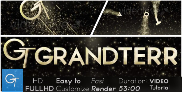 After Effects Project - VideoHive Marvellous Intro 2331189