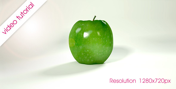 VideoHive Rolling Fruit Apples Animation 2331727