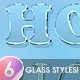 6 Awesome Glass and Frost Styles - GraphicRiver Item for Sale
