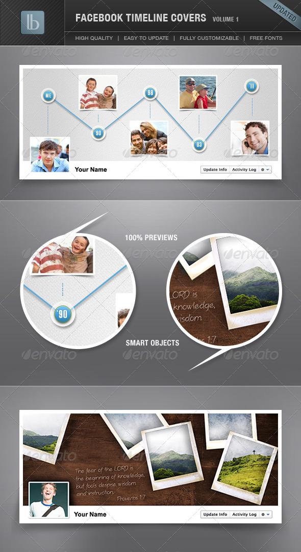 GraphicRiver Facebook Timeline Cover Volume 1 1257646