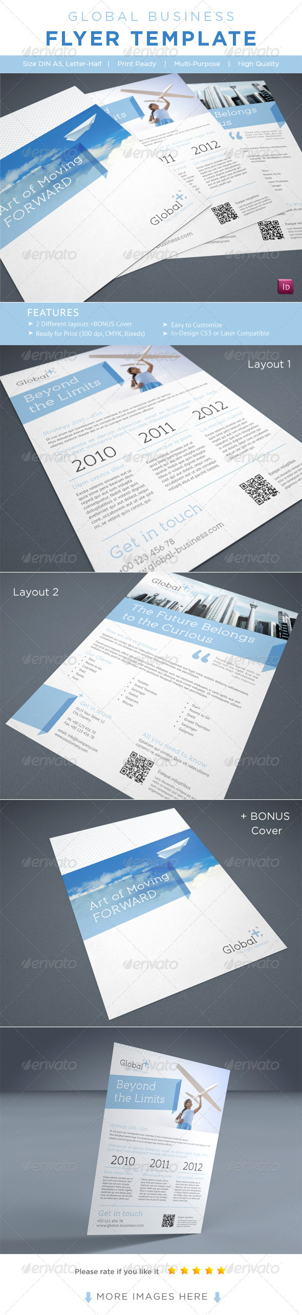 GraphicRiver Business Flyer AD Template 2334585