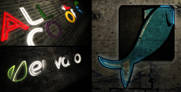 After Effects Project - VideoHive Neon Reveal 2335097