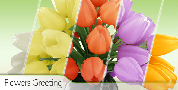 VideoHive Flowers Greeting 2335847