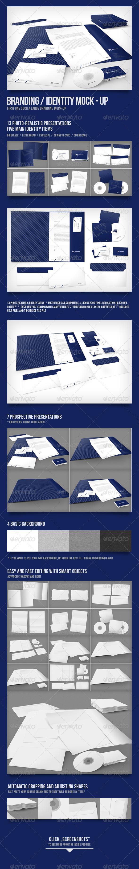 GraphicRiver Branding Identity Mock-up 2319067