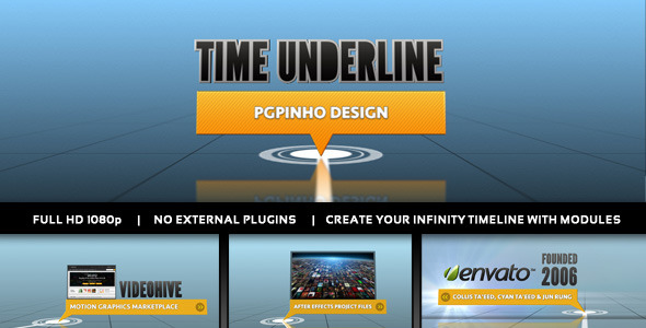 VideoHive Time Underline 2338458