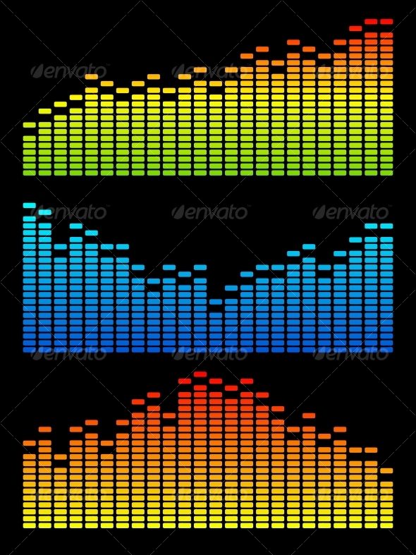 GraphicRiver Vector digital equalizer 86687