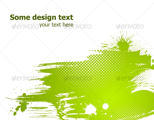 GraphicRiver Green abstract vector illustration 86691