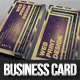Desert Light Business Card - GraphicRiver Item for Sale